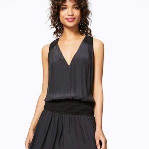 Ramy Brook Shea Crochet Drop Waist Dress NWT Sz M
